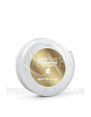 Зубна нитка-флос NANO - флос, розширюється, 2 * 25 м : WhiteWash Laboratories