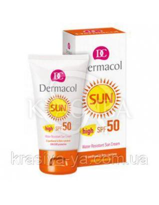 DC SUN Cream Крем для загара SPF 50 водостойкий, смягчающий, 50 мл : Средства для загара