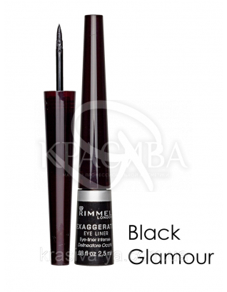 RM Exaggerate Eye Liner - Подводка для глаз (01-Black / черный), 2,5 мл : Подводка для глаз