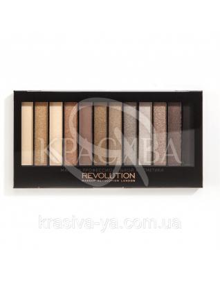 MUR Redemption Palette - Палетка из 12 оттенков теней (Iconic 2), 14 г : Makeup Revolution