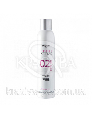 02 Eco Lacca Эко лак для волос 4 с.ф., 350 мл : Лак для волос