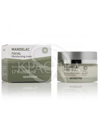 Mandelac Moisturizing Cream - Зволожуючий крем, 50 мл :