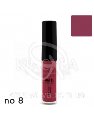 Matte Liquid Lipcolor - Xtra Long Lasting Матова рідка помада 8, 6 мл : Lavish Care