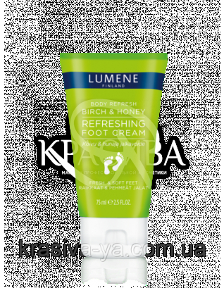"Body Refresh Birch & Honey - Крем для ног охлаждающий ""Береза и Мед"", 75 мл : Lumene"
