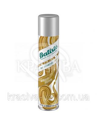 Batiste Dry Shampoo Plus-Brilliant Blonde - Сухий шампунь, 200 мл : Batiste