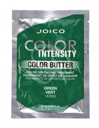 Цветное масло Color Intensity Care Butter Зеленый, 2 х 20 мл : Оттеночные средства