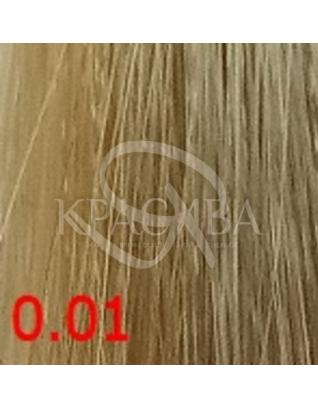 Cutrin Aurora Demi Color - Безаміачна фарба для волосся 0.01 Срібна гармонія, 60 мл :