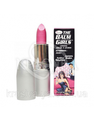 The Balm Girls Lipsticks Anita Boytoy-Cool Pink Frost - Помада для губ, 4 г : TheBalm