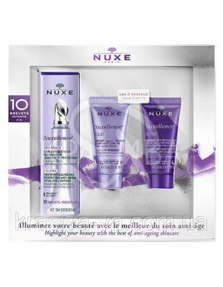 Набор Нюкселянс (средство для контура глаз 15 мл + флюид 15 мл + детокс крем 15 мл) : Nuxe