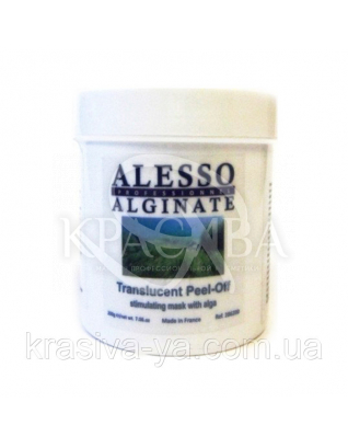 Альгінатна маска напівпрозора стимулююча з Морськими водоростями : Alesso