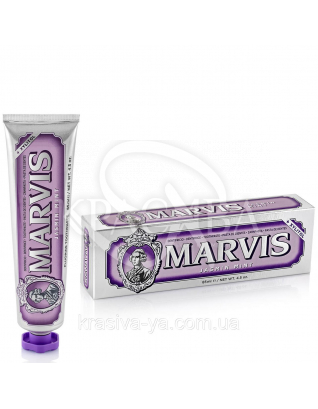 Marvis Jasmin Mint - Зубная паста Жасмин -Мята, 85 мл