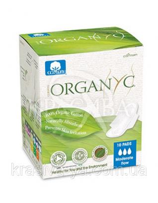CR Гигиенические прокладки с крылышками для умеренных выделений, в  индивидуальной упаковки, 10 шт : Прокладки ежедневные