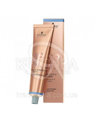 Bleach & Tone Rose Additive - Нейтрализующий экстракт пастельных розовых для обесцвечивания, 60 мл