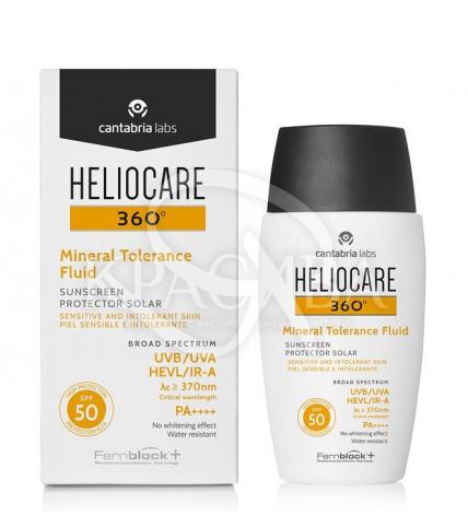 Солнцезащитный минеральный флюид для чувствительной кожи SPF50 - 1