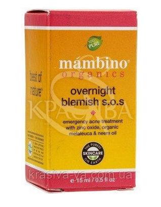 MAM Засіб проти вугрів і недоліків на шкірі S. O. S./Overnight Blemish S. O. S., 15 мл :