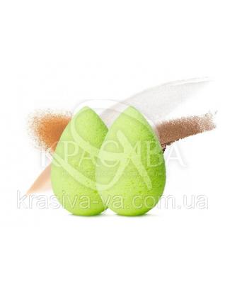 Beautyblender Micro Mini (green) - Мини спонжи для макияжа (зеленые), 2 шт : Спонжи и пуховки