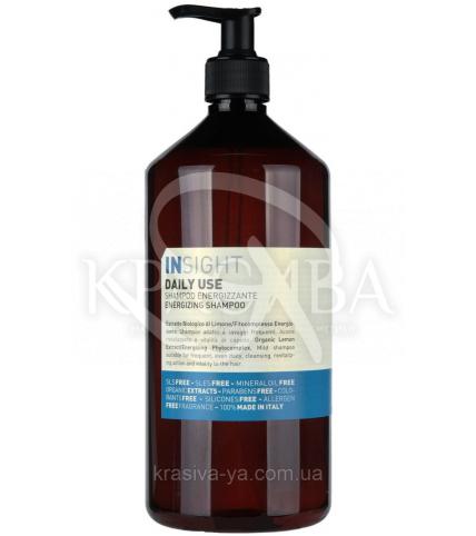 Инсайт Шампунь энергетический для ежедневного ухода за волосами всех типов, 900 мл - 1