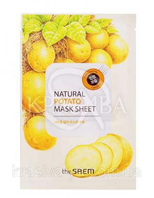 "The Saem Natural Sheet - Тканинна маска з натуральним екстрактом ""Картопля"", 20 мл : The Saem"