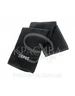 Рушник для волосся, чорний, 80*50 см : Depot