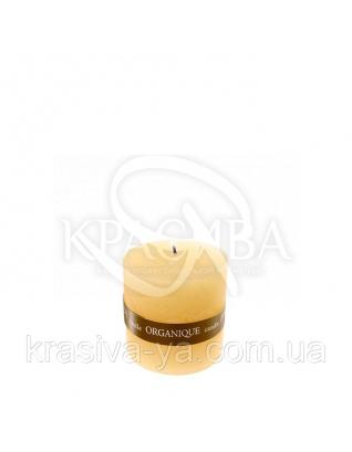 Свеча ароматерапевтическая маленькая 50*50 - Пина колада (Желтый), 90 г