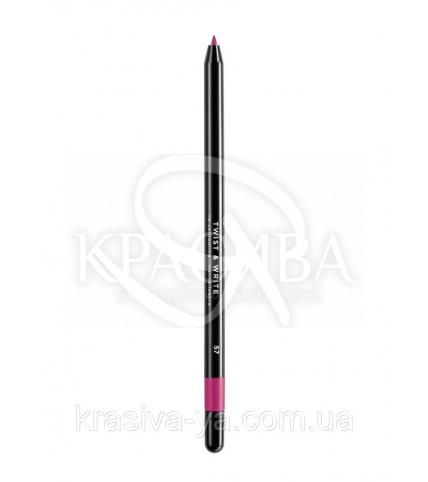 Косметичний водостійкий олівець для губ Twist & Write 57 - 1