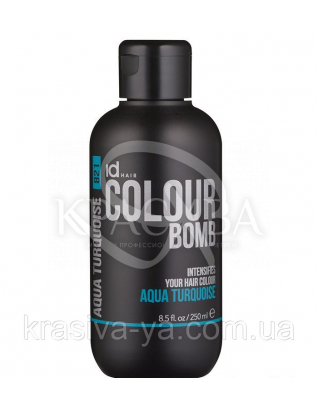 Id Hair CB Aqua Turquoise 821 - Тонирующий бальзам для волос, 250 мл