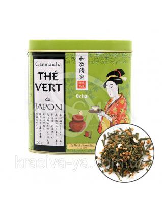 TdO Органический Японский зеленый чай Генмайча / Organic Genmaicha Green Tea Japan, 100 г : Органический чай