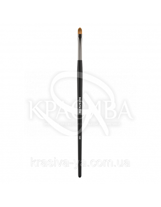 320 Lip creamy textures, concealer brush, synthetic - Кисть для помад і кремових текстур, синтетика : Nastelle