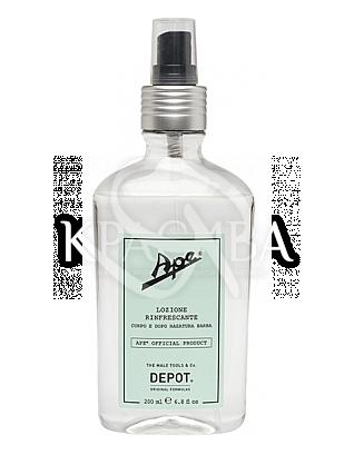 Освіжаючий Спрей для тіла та обличчя після гоління, 200 мл : Depot
