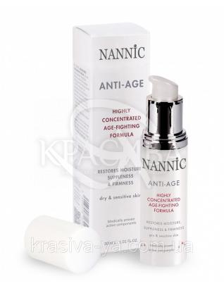 Anti-age Factor,dry&sensitive Антивозростная активная сыворотка в креме,сухая и чувствительная кожа, 30 мл