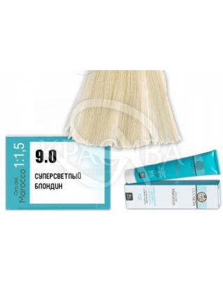 Barex Olioseta ODM - Крем-краска безаммиачная с маслом арганы 9.0 Супер светлый блондин, 100 мл :