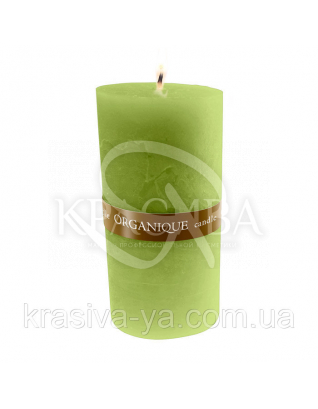 Свічка ароматерапевтична велика 150*70 - Грецький (Зелений), 570 г : Декор для дому