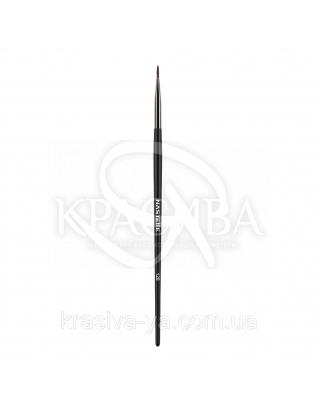 128 Eyeliner brush, synthetic - Кисть для підводки, синтетика : Nastelle