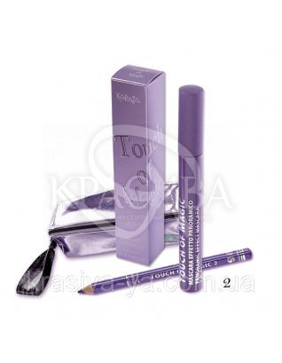 Karaja Туш для вій і олівець Magic Touch 2 Purple, 6 мл + 1.14 р