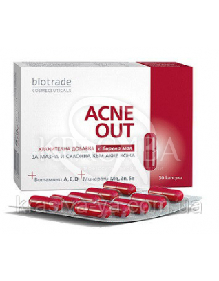 Acne Out Пищевая добавка, 30 капсул