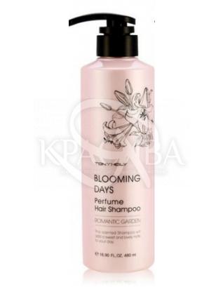 Tony Moly Blooming Days Parfume Hair Shampoo (Romantic Garden)-Парфюмированный энергетический шампунь, 480 мл : Tony Moly