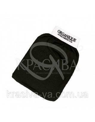 Перчатка для хаммама с логотипом - Черная : Мочалки и губки