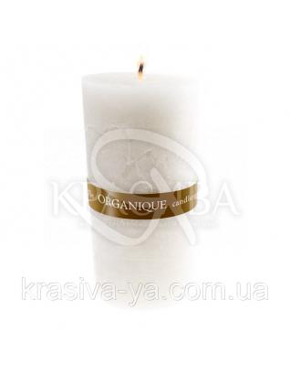 Свеча ароматерапевтическая большая 150*70 - Лотос (Белый), 570 г