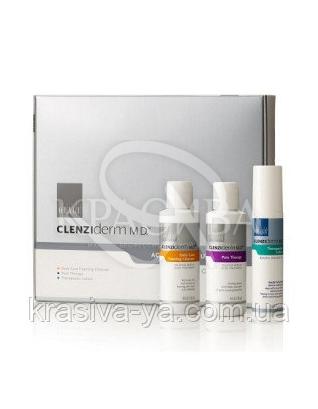 Набор для нормальной и жирной кожи,лечение угревой болезни :