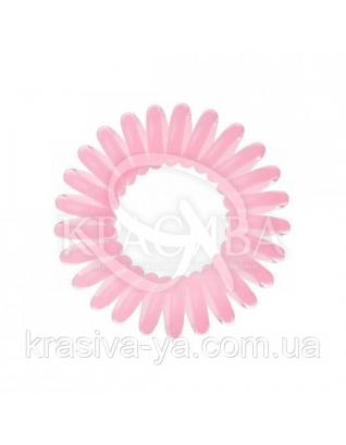Резинка для волос розовая, 3шт : Заколки и резинки