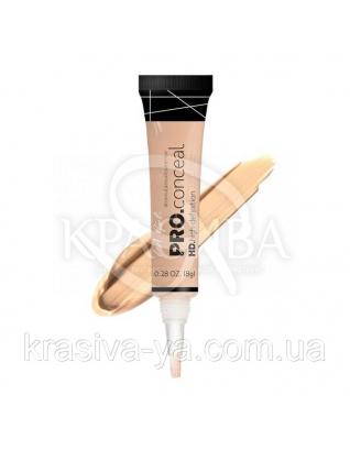 L.A.Girl GC 973 Pro Conceal HD Concealer Creamy Beige - Консилер под глаза (бежевый крем), 8 г : Макияж для лица