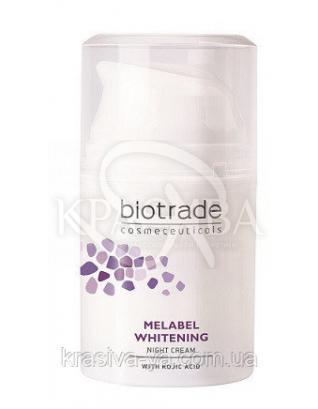 Melabel Отбеливающий ночной крем, 50 мл : Biotrade