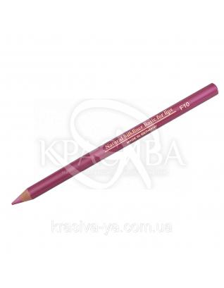 """Карандаш для губ """"Шелковая линия"""" F10, 1.3 г : Контурный карандаш для губ"""
