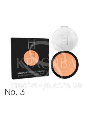 Longwear Compact Foundation Pressed Powder Компактная пудра для лица 3, 12 г : Макияж для лица