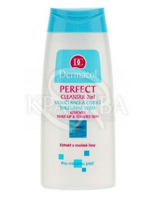 DC Perfect Cleanser 2in1 Лосьон-тоник 2в1 для очищения и снятия макияжа молодой кожи, 200 мл : Лосьон для лица