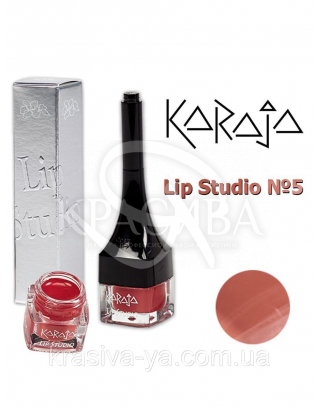 Karaja Губна помада Lip Studio 5 Brown, 2.5 мл