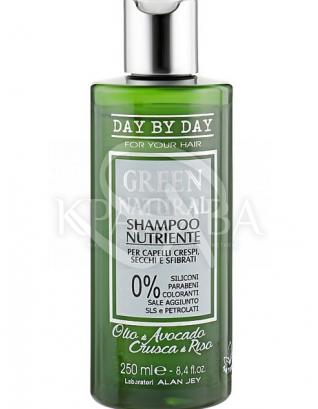 Поживний шампунь для кучерявого сухих і пошкоджених волосся : Alan Jey