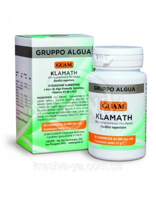 Пищевой продукт водоросль Klamath для специального диетического потребления, 90шт. 72 г : Диетические и пищевые добавки