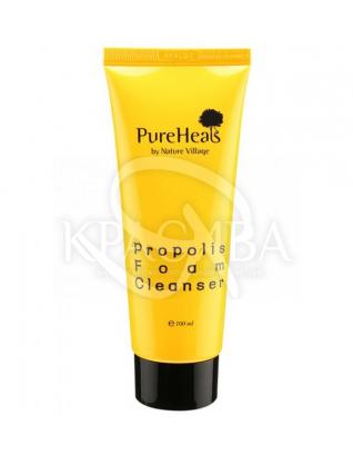 Пінка очищає із екстрактом прополісу для чутливої шкіри : PureHeal's