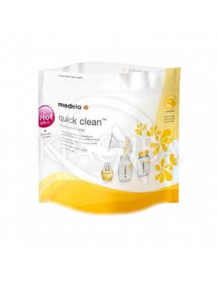 Пакети для парової стерилізації в мікрохвильовій печі : Medela